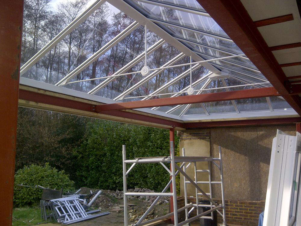Conservatory To Orangery In Orpington Kent Contemporary