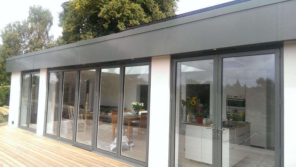 Large Single Lantern Extension Orangery In Sevenoaks