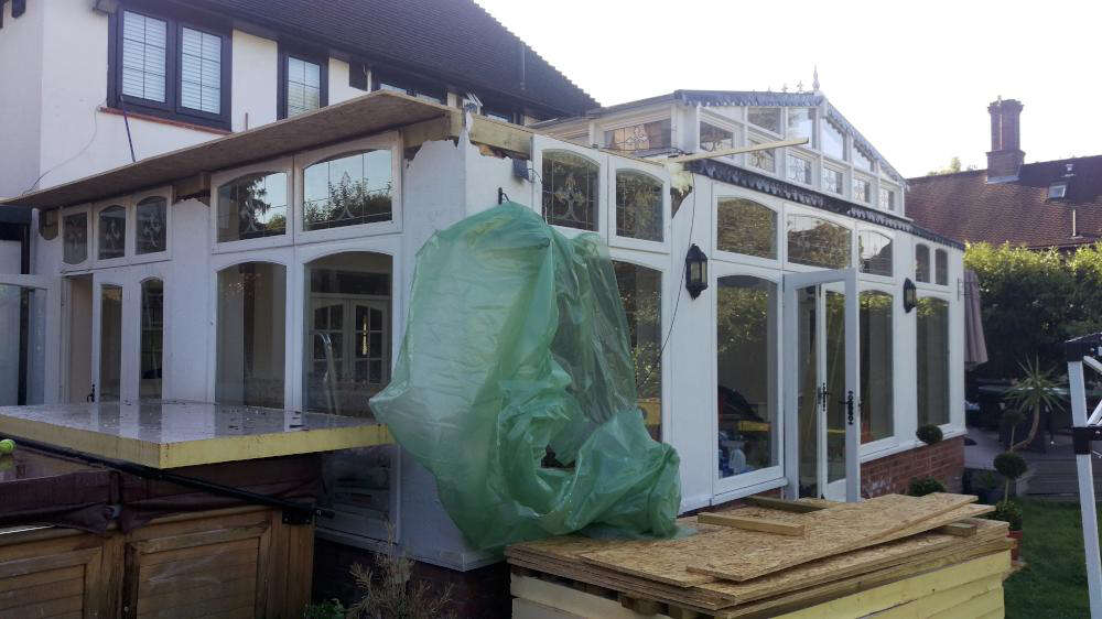 Conservatory Refurbishment BEFORE