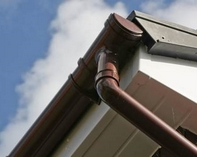 Gutters and Downpipes | Contemporary Structures Kent