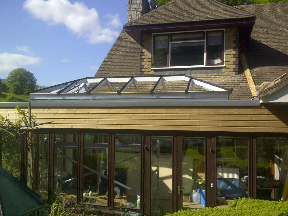 Renovation Of A Conservatory To An Orangery In Westerham