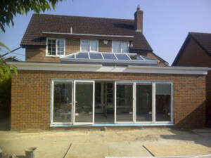 Glass Extension Kent